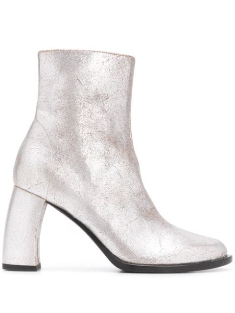Ann Demeulemeester Bristol curved-heel Ankle Boots