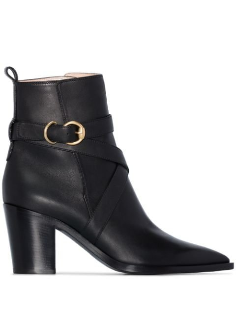Gianvito Rossi Western-Style 70Mm Ankle Boots Ss20 | Farfetch.com