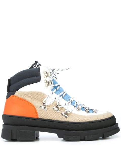 GANNI Sporty Hiking Ankle Boots