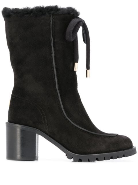 Jimmy Choo Buffy 65 Suede Boots Ss20 | Farfetch.com