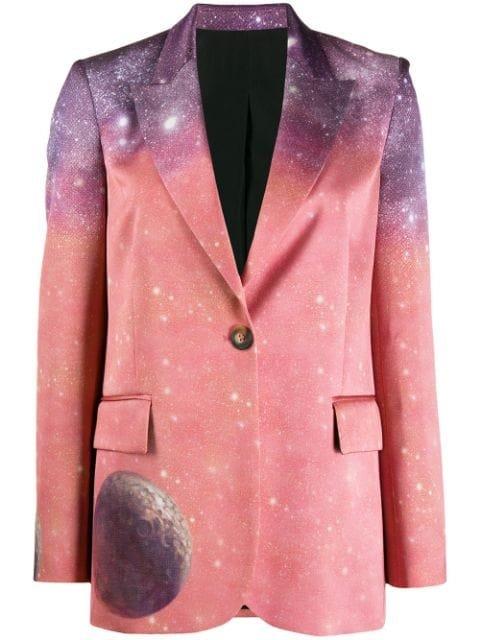 Pinko Space Print Blazer Aw19 | Farfetch.com