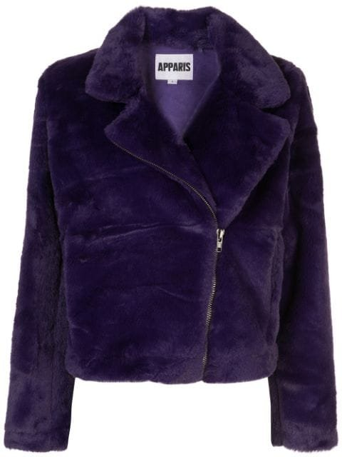 Apparis TUKIO Faux Fur Jacket Aw19 | Farfetch.com