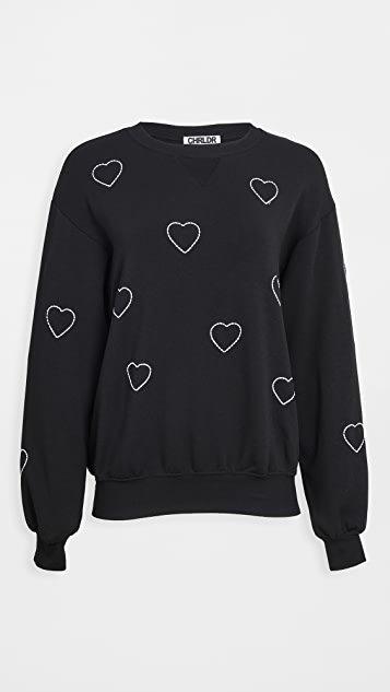 Stitched Heart Sweatshirt