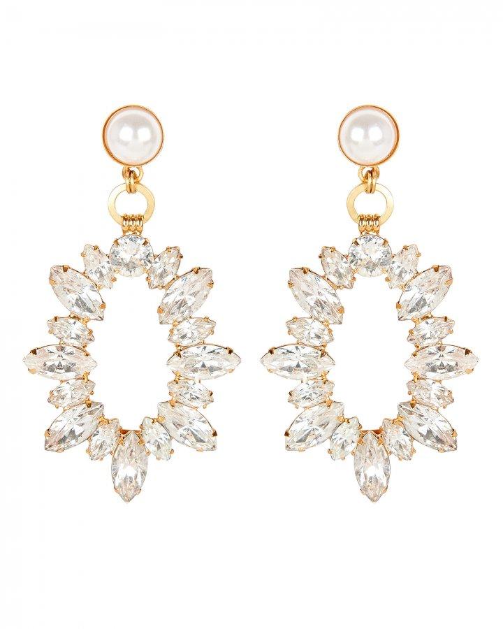 Adalyn Crystal Statement Earrings