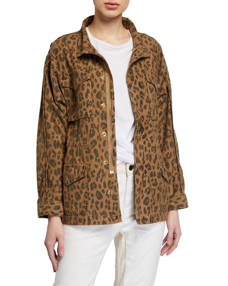 Spring Cheetah Service Jacket