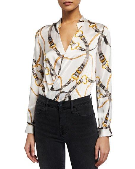 Marcella Long-Sleeve Bodysuit