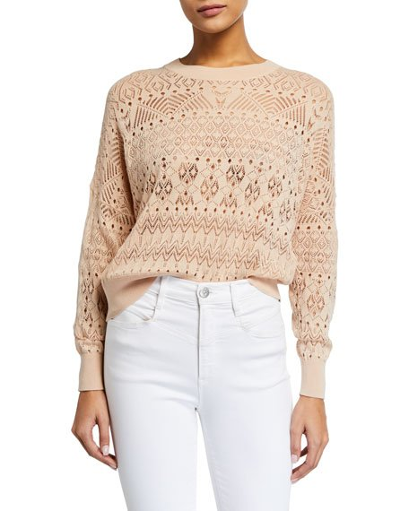Peypin Pointelle Sweater