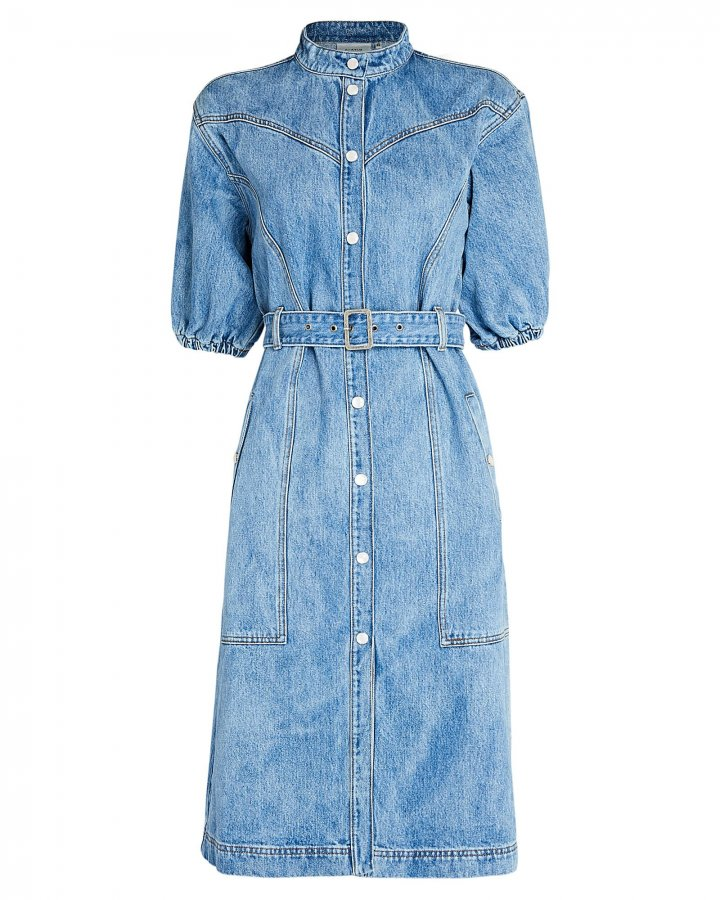 Dacy Denim Shirt Dress
