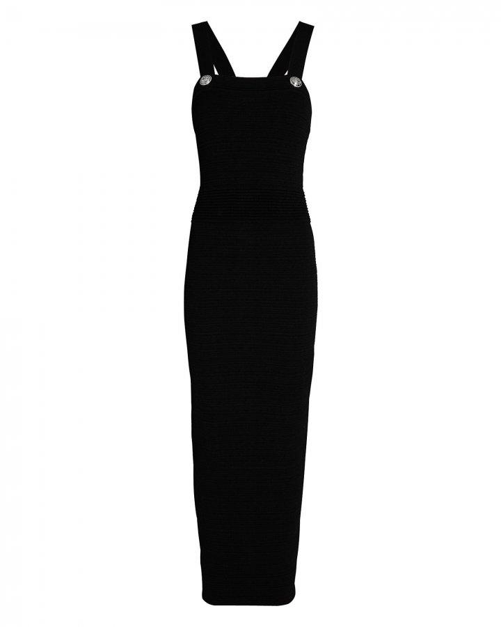 Rib Knit Maxi Dress