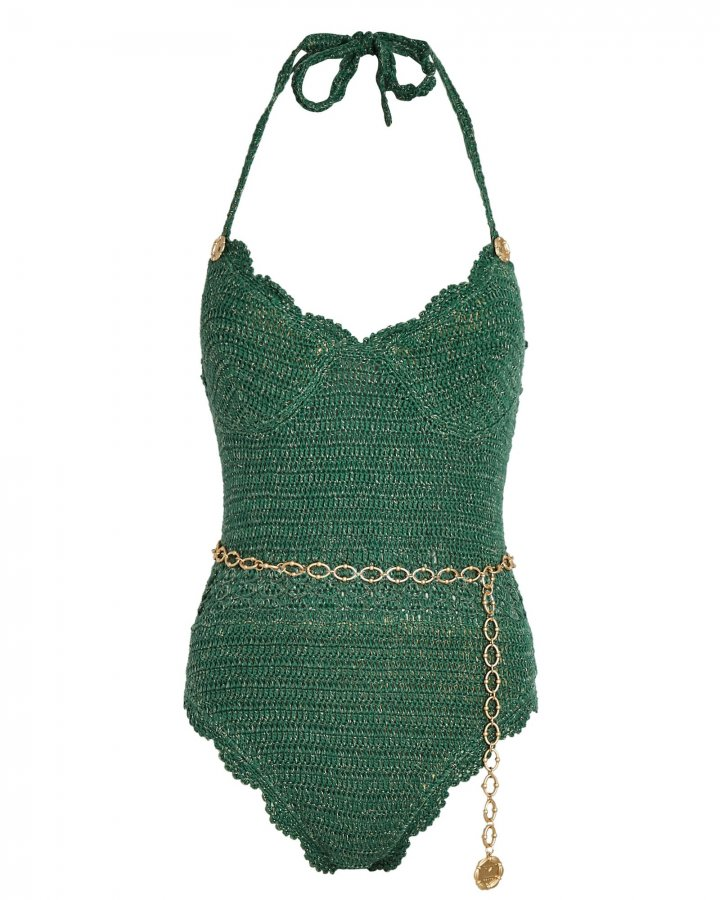 Tess Crochet One-Piece Swimsuit