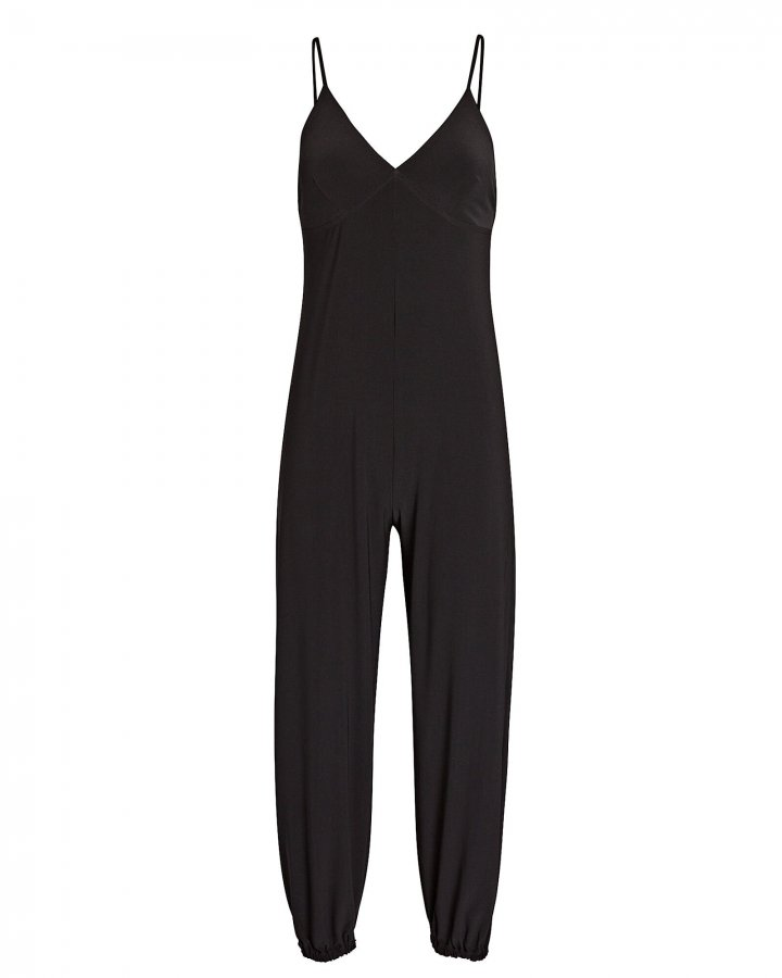Slip Jog Sleeveless Jersey Jumpsuit