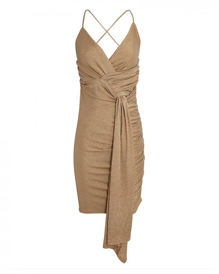 Deia Ruched Sleeveless Mini Dress
