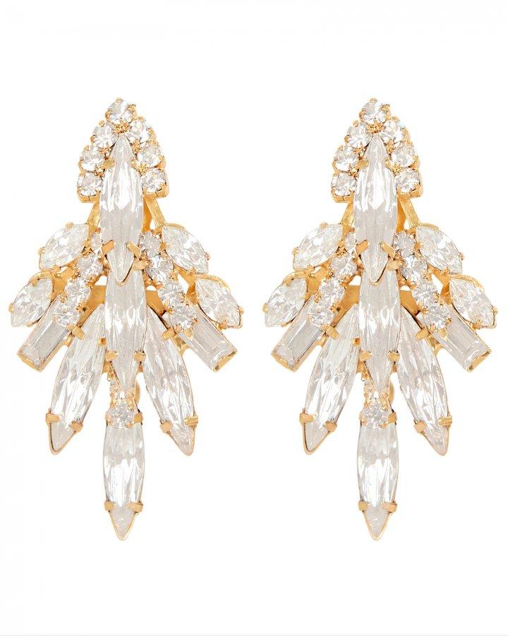 Lil Billie Crystal Drop Earrings