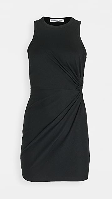 Heavy Soft Jersey Fitted Tank Dress