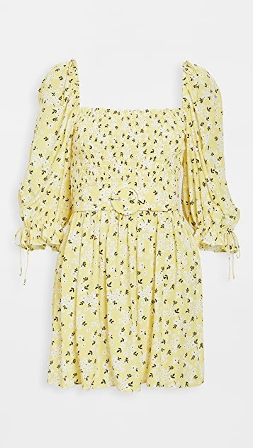 Chrysanthemum Mini Dress