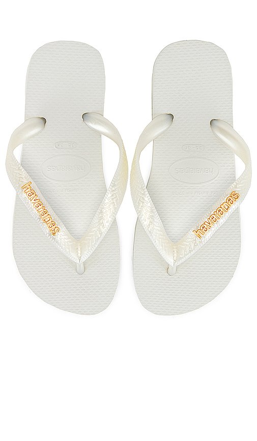 Top Logo Metallic Sandal