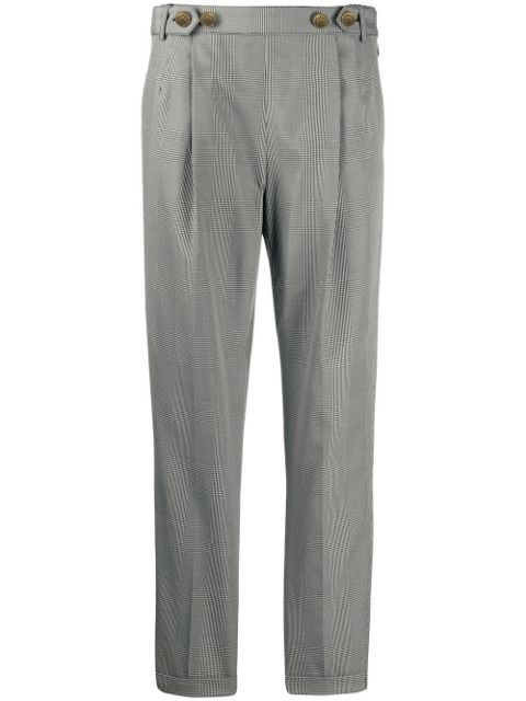 Philosophy Di Lorenzo Serafini Prince Of Wales Trousers Ss20 | Farfetch.com