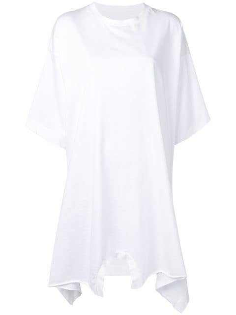 Mm6 Maison Margiela Oversized T-Shirt Dress Ss20 | Farfetch.com