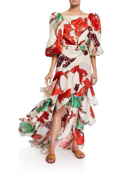 Forbidden Tropics Wrap Skirt