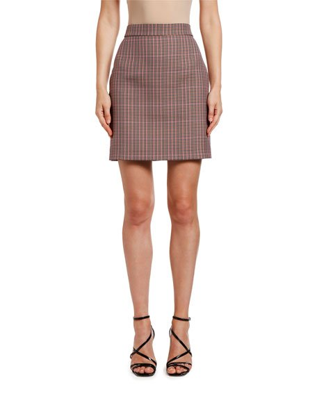 Gonna Plaid Mini Skirt