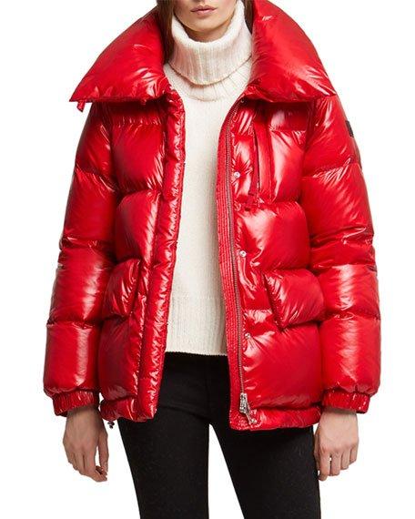 Alquippa Channel-Quilt Puffy Jacket