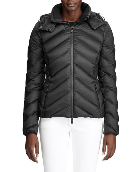 Aden Hooded Puffer Coat