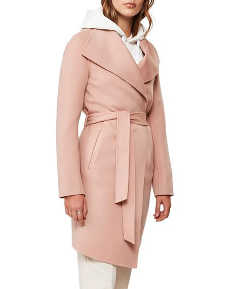 Laila Handmade Wool Wrap Coat