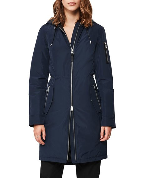 Casey Lightweight Down Raincoat