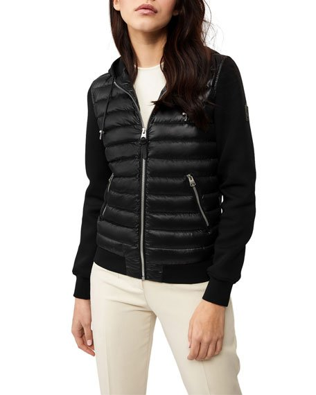 Lale Front-Down Hooded Jacket
