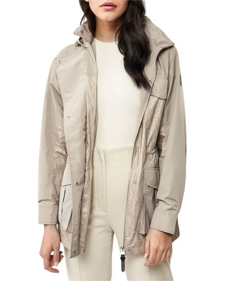 Toni Combo Hooded Raincoat