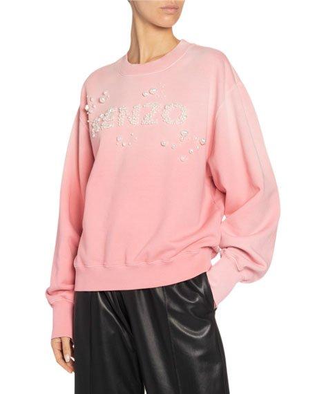 Oversized Bubble Logo Sweatshirt