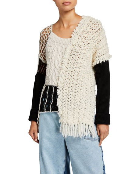 Tama Patchwork Knit Sweater