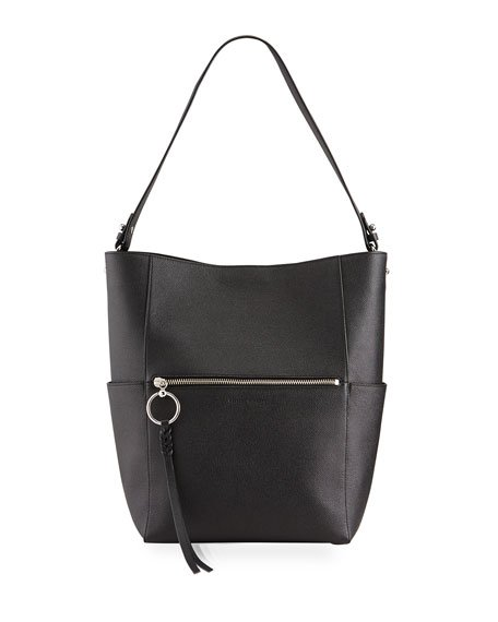 Gabby Hobo Bag with Webbing Strap