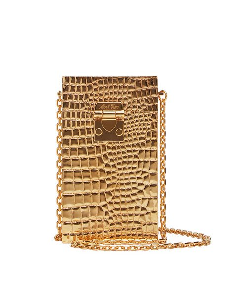 Jolie Metal Clutch Bag
