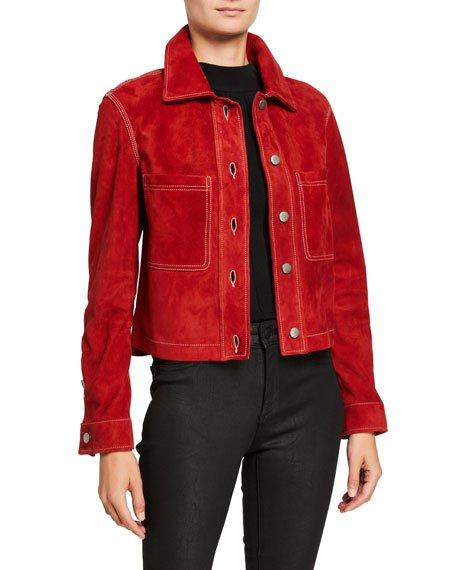 Zennia Suede Jacket