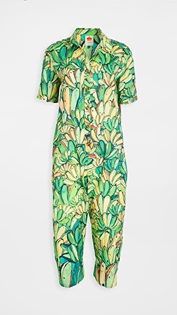 Green Banana Jumpsuit