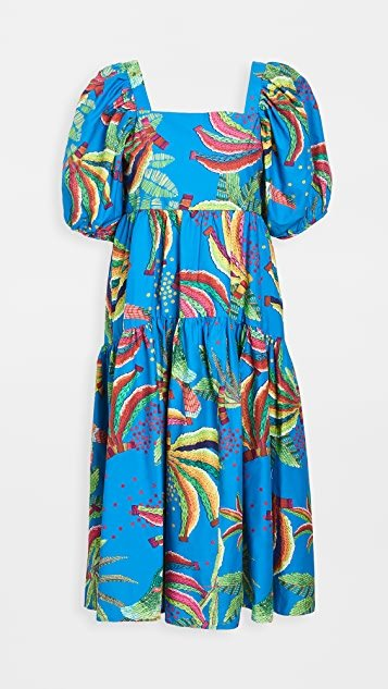 Blue Banana Midi Dress