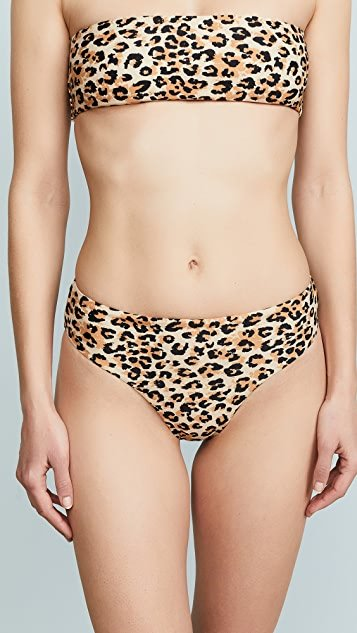 Canyon High Cut Bikini Bottoms