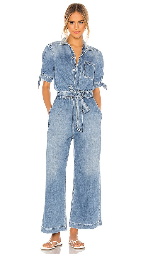 Robyn Knot Sleeve Jumpsuit