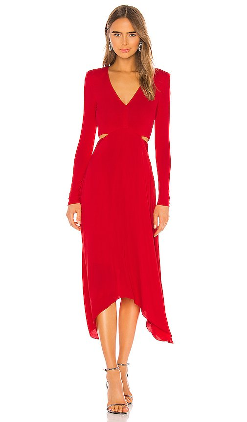 Temika Cutout Midi Dress