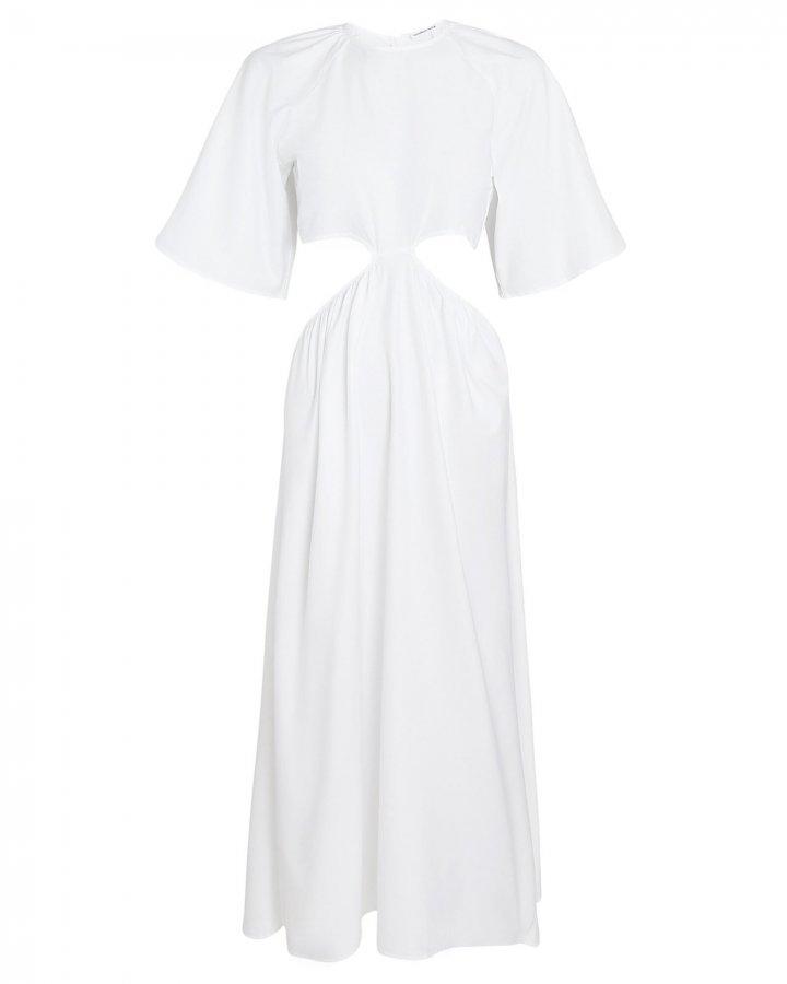 Milan Cotton Cut-Out Dress