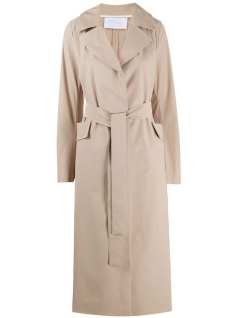 Harris Wharf London Belted Trench Coat Ss20   Farfetch.com