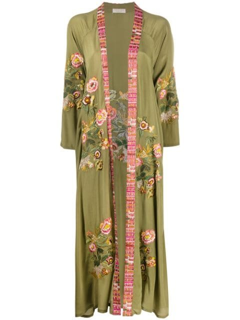 Anjuna Floral Embroidered Robe
