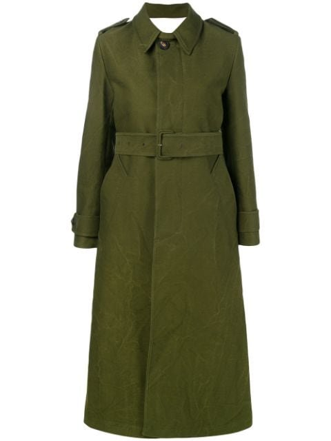 Ami Paris Women\'s Trench Coat