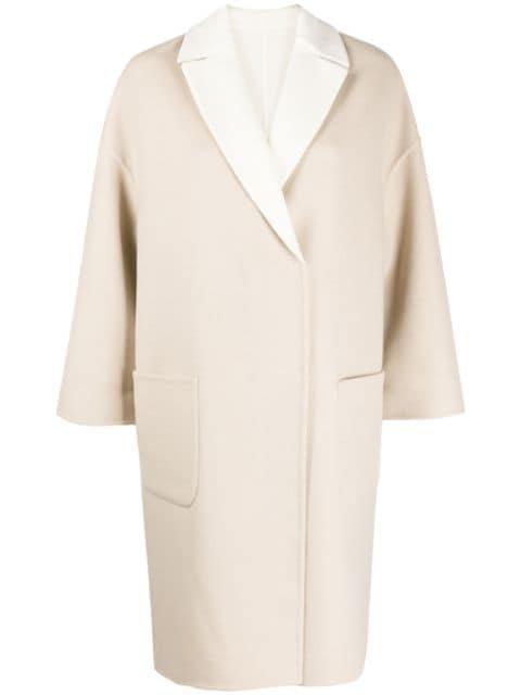 Brunello Cucinelli double-face Oversized Coat