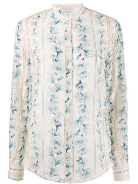 Forte Forte Floral Print Shirt Ss20 | Farfetch.com