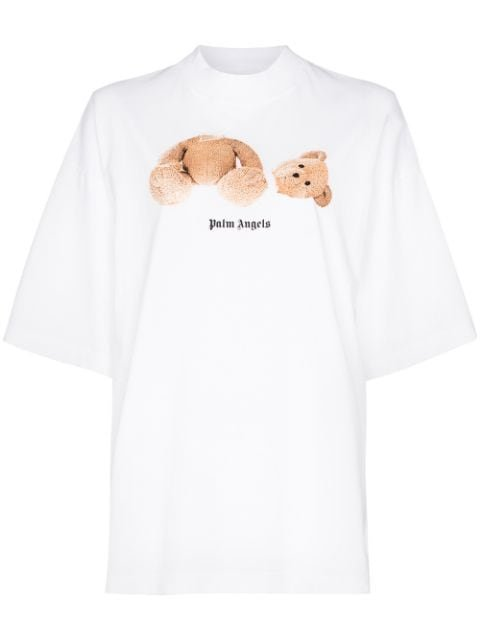 Palm Angels Bear Print Oversized T-Shirt Ss20 | Farfetch.com