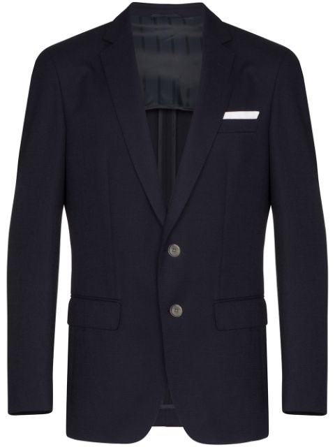 Boss Hartley Single-Breasted Blazer Ss20 | Farfetch.com