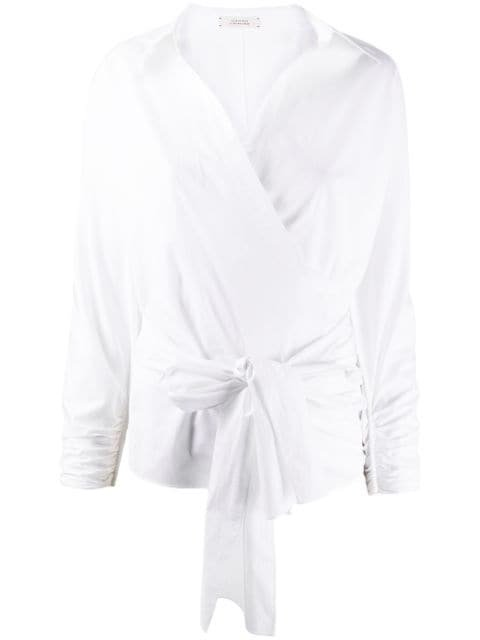 Dorothee Schumacher Asymmetric long-sleeve Blouse