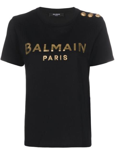 Balmain Logo T-Shirt Ss20 | Farfetch.com